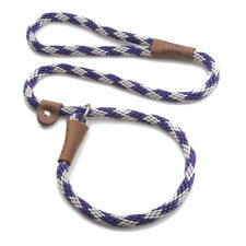 Mendota - Dog Puppy  Leash - British Style Slip Lead - Amethyst - 4, 6 Foot