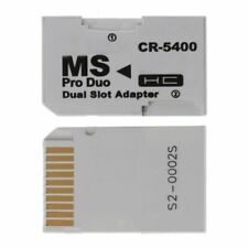 1x Memory Card Adapter SDHC Cards Adapter Micro SD/TF to MS PRO Duo for PSP Card