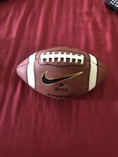 Nike Vapor One Official High School Size Leather Game Football Nfhs Ft0222 New