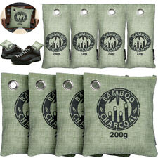 8x Bamboo Charcoal Activated Carbon Air Freshener Bag Car Eliminator & Deodorize