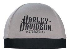 Harley-Davidson Men's Harley Life Script Skull Cap, Gray & Black SK22012