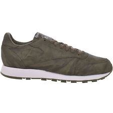 Reebok Mens Classic Leather CTE Casual Lace Up Trainers Sneakers Shoes - 8