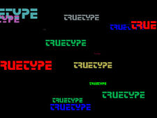 Microsoft's TrueType core fonts Windows Mac Apple software PC INSTANT DOWNLOAD