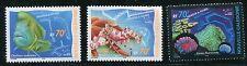 NEW CALEDONIA 2000 NOUMEA AQUARIUM - CORAL - FISH - STARFISH  SET MINT COMPLETE!