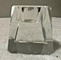 Oleg Cassini Memphis 126441 Crystal Votive Candle Holder Decor