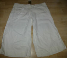Linen Patternless Petite Shorts for Women
