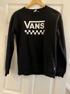 Vans Black And White Jumper Small Off The Wall