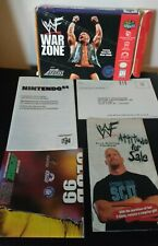 WWF War Zone N64 Box and Inserts Only - Authentic, Original - No Game or Manual