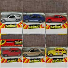 MACCHININE 1/43 SOLIDO MADE IN FRANCE VINTAGE TOY