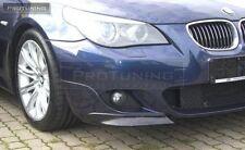 BMW E60 E61 M-Sport Frontstoßstange spoiler klappen elerons M-strom tuning