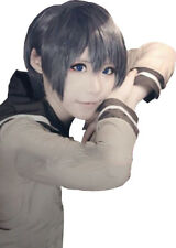 Cosplay wig for Black Butler Ciel Black Grey