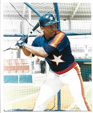 Loose Major League Baseball Billy Hatcher Houston Astros Color Photo