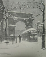 Ellison Hoover : New York : 1930 : Archival Quality Art Print