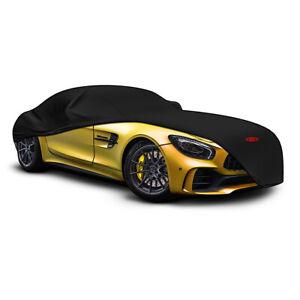 SAAS Indoor Sports Garage Car Cover Non Scratch for Porsche Cayman R S CS Black