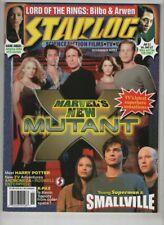 Starlog Mag Smallville Lord Of The Rings Jessica Alba November 2001 090920nonr