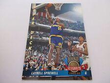 Carte NBA UPPER DECK 1992-93 ROOKIE STANDOUTS FR #59 Latrell Sprewell