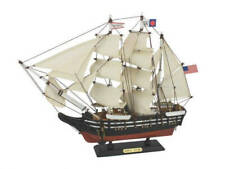 "Wooden Charles W. Morgan Model Whaling Boat 15"" - Tall Model Ship - Wooden Model"