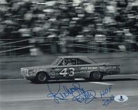 RICHARD PETTY SIGNED AUTOGRAPHED 8x10 PHOTO + HOF 2010 NASCAR LEGEND BECKETT BAS