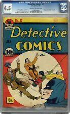 Detective Comics #47 CGC 4.5 1941 0160264006