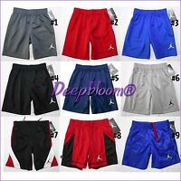 NIKE AIR JORDAN SHORTS BOYS BASKETBALL KIDS TODDLER DRI FIT 2T 3T 4T ROYAL NEW