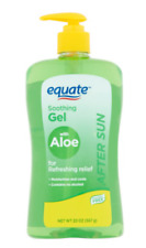 Equate After Sun Soothing Gel With Aloe, 20 Oz - Priority Shipping