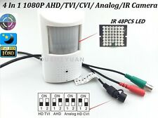 CCTV HD-AHD/TVI/CVI/CVBS 2.0MP 1080P 3.7mm PIR Hidden Detecto IR 4 In1 Camera