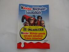 2005 - Die Unglaublichen - Kinder Milchtalerheft
