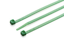 Partex 300mm x 4.8mm Green Cable Ties, High Quality Nylon 6.6, Pack 100
