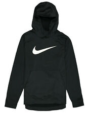 NIKE Therma Swoosh Fleece Pullover Training Hoodie XL X-Large Black Standard Fit