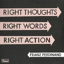 FRANZ FERDINAND = right thoughts words action =2CD= ALTERNATIVE INIDE ROCK !!!