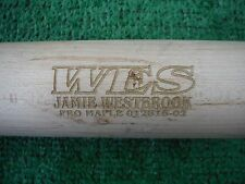 ARIZONA DIAMONDBACKS JAMIE WESTBROOK GAME USED BASEBALL BAT