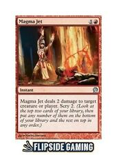4x Magma Jet (Theros) SP or Better Mtg ~Flipside2~