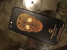 GOLD IPHONE 6S RARE 24K GOLD CRYSTALS CUSTOM UNLOCKED PRICE DROPPED