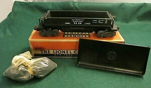 Lionel  3469  DUMP CAR IN Nice CONDITION IN OB with Coal