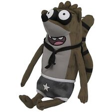 "20"" Regular Show Rigby Wrestling Buddy with Sound!, by Jazwares NEW"