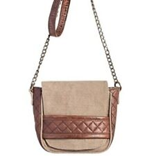 Mona B Goldie Crossbody Bag - Up-cycled truck tarps & military tents