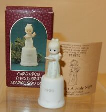 "Precious Moments ""Once Upon a Holy Night - 1990"" Thimble 523844"
