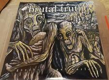 Brutal Truth-Goodbye Cruel World 3lp (vinilo) New grindcore, repulsion, Phobia