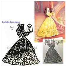 Enchanted Belle Disney Princess metal die DUS0604 - Beauty and the Beast dies