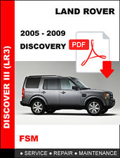 LAND ROVER DISCOVERY 3 2005 - 2009 FACTORY OEM SERVICE REPAIR WORKSHOP MANUAL