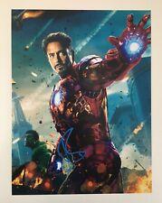 Robert Downey Jr. signed Autogramm * Iron Man Avengers