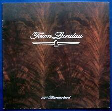 Prospekt brochure 1977 Ford Thunderbird Town Landau (USA)