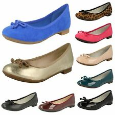 Clarks Women's Patent Leather Ballerinas