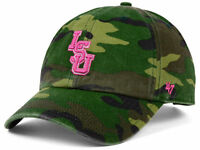 LSU Tigers '47 Brand NCAA Camo and Pink Women's Hat Cap one size fits most