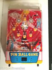 Rare Vintage Japan Tomiyama NOS Boxed Circus Table Pinball-compare to OVER $900