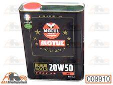 HUILE (OIL) MOTUL 20W50 2L pour Citroen 2CV DYANE MEHARI AMI  -9910-
