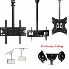 """32-70"""" Ceiling Wall Mount TV Bracket LED LCD Plasma Tilt & Swivel TV Stands"""
