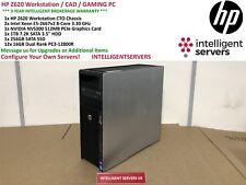HP Z620 Workstation 2x Xeon E5-2667 V2 3.30GHz 192GB 1TB SATA 256GB SSD NVS 300