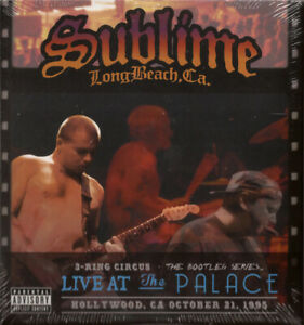 Sublime – 3 Ring Circus: Live At The Palace 2DVD/CD (NTSC) 2013 NEW/SEALED