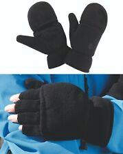 Winter Fleece Palmgrip Ski Mittens Mitts Snow Warm Skating Snowboarding Gloves